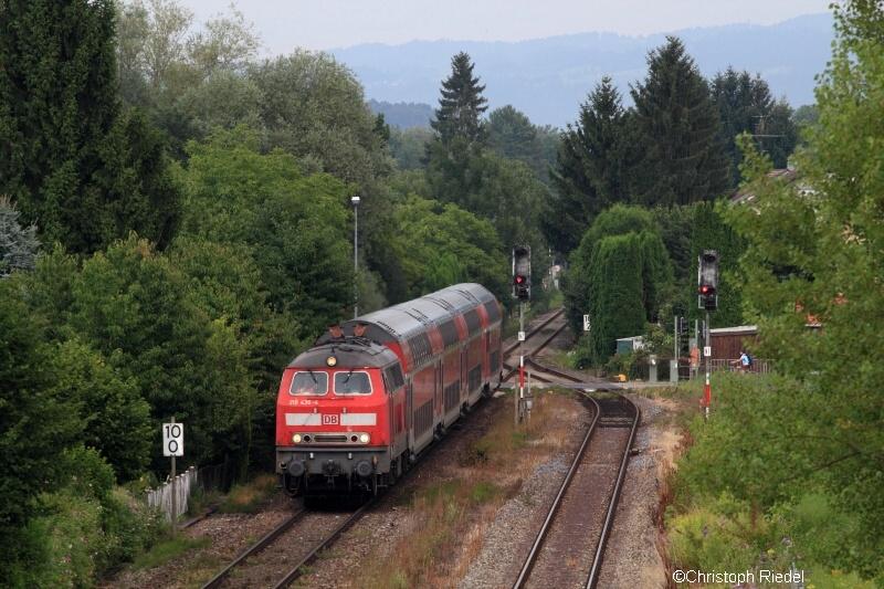BR 218, Bodenseegürtelbahn