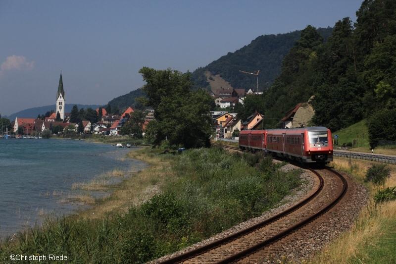BR 611, Sipplingen, Bodensee, Bodenseegürtelbahn
