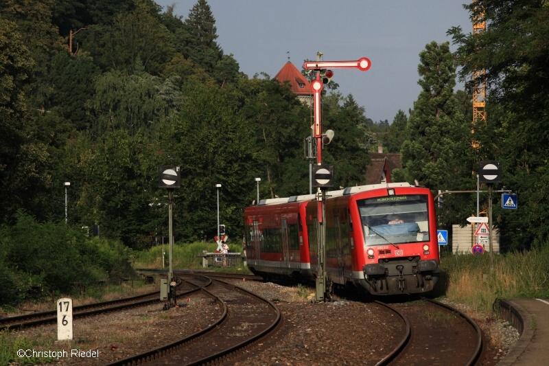 BR 650, Formsignal, Überlingen, Bodenseegürtelbahn