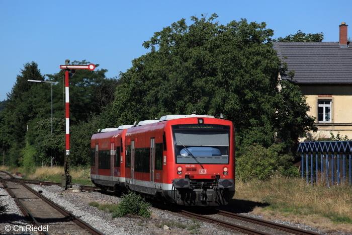 BR 650, Bodenseegürtelbahn, Salem, Formsignal