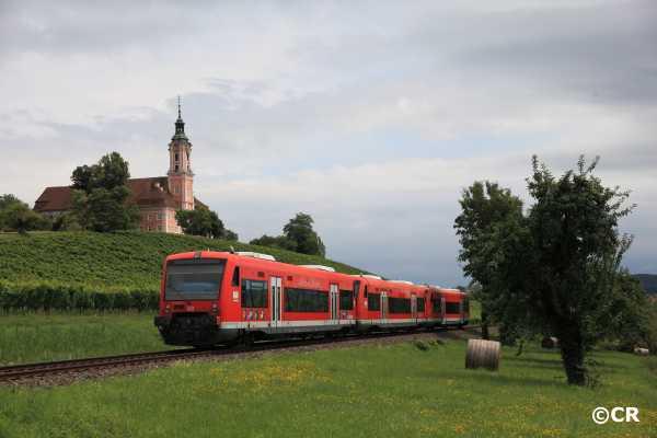 Basilika Birnau, BR 650, Bodenseegürtelbahn