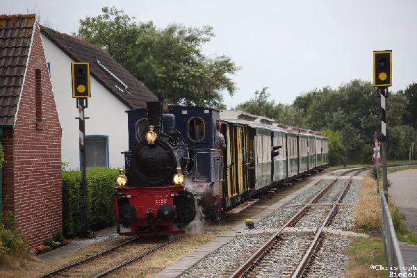 Borkum III, Borkumer Inselbahn