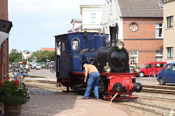 Lok Borkum III, Borkumer Inselbahn