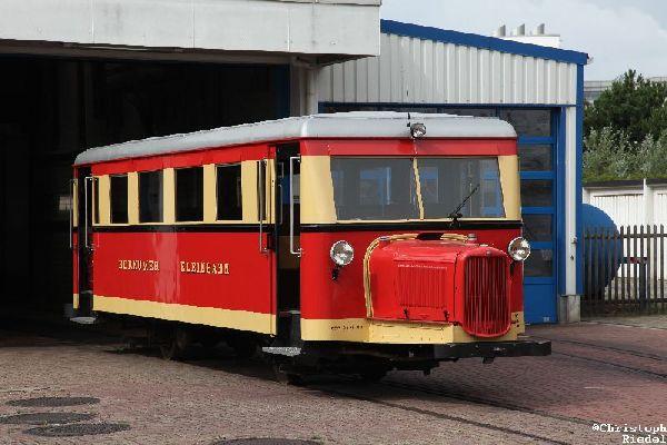 Borkumer Inselbahn, Wismarer Schienenbus, Ameisenbär, Schweineschnäuzchen