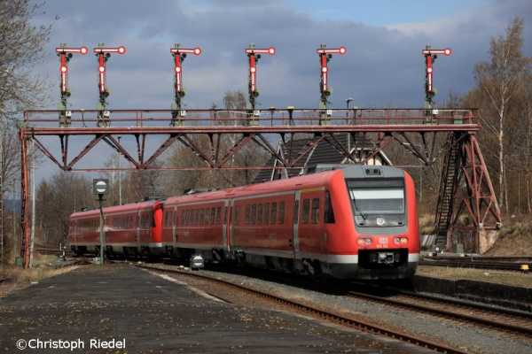 BR 612, Bad Harzburg, Signalbrücke