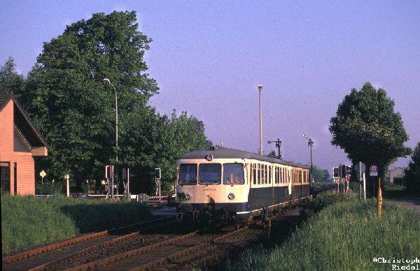 Akkutriebwagen, ETA 150, BR 515, Strecke Düren-Jülich