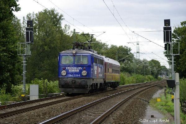 ÖBB 1042, Strecke Mönchengladbach-Aachen