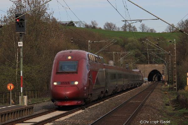TGV, Aachen-Eilendorf