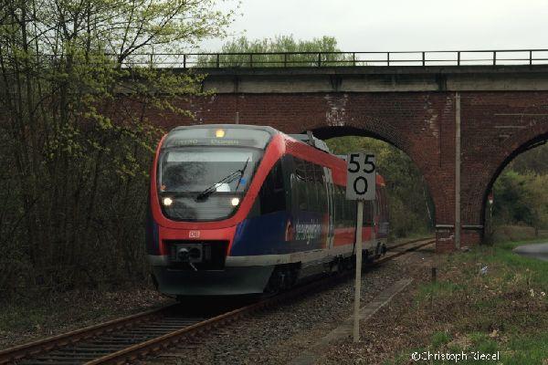 643, Talbahn