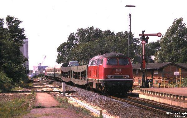 218, Formsignal, Marschbahn
