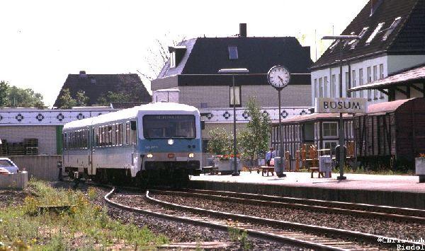 628, Strecke Heide-Büsum