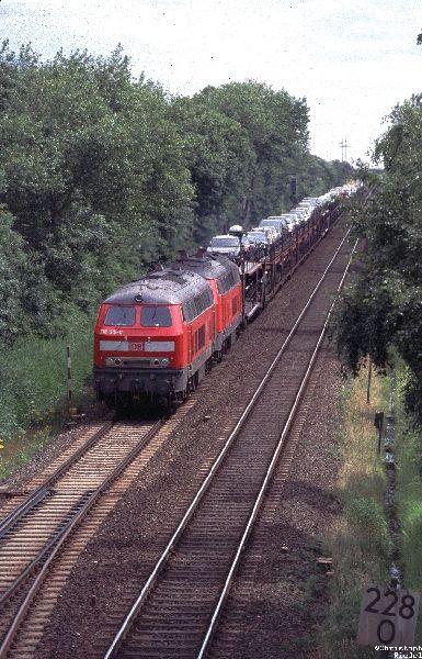 218, Sylt, Marschbahn