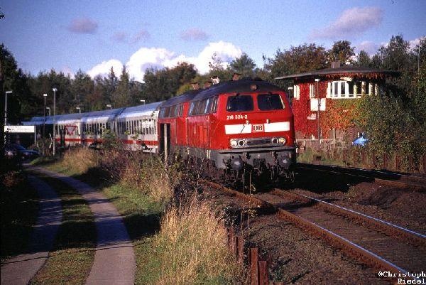 218, Marschbahn