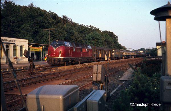 V 200, 220, Strecke Lübeck-Kiel