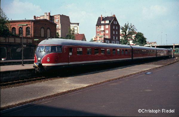 Eierkopf, 612, 608, 613, Lübeck Hbf