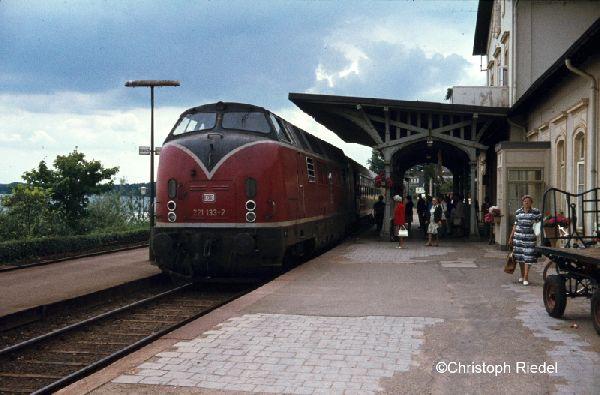 V 200.1, BR 221, Strecke Kiel-Lübeck