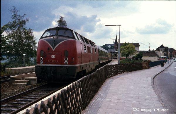 V 200.1, BR 221, Strecke Lübeck-Kiel