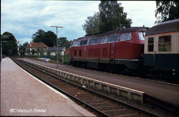 V 160, BR 216, Strecke Lübeck-Kiel