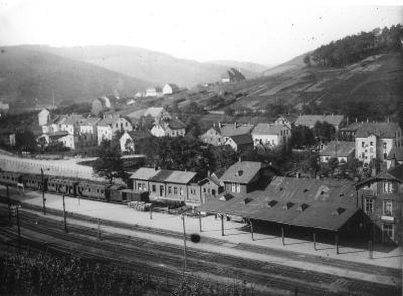 Volmetalbahn Bahnhof Brügge