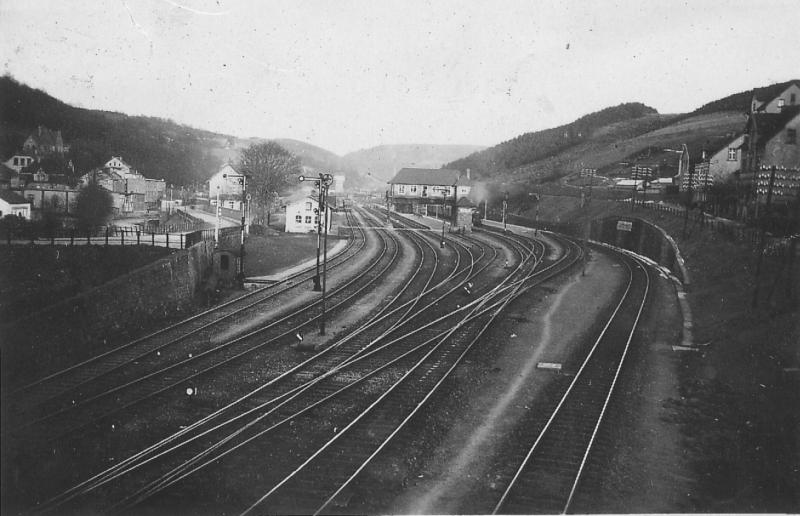 Bahnhof Brügge Volmetalbahn