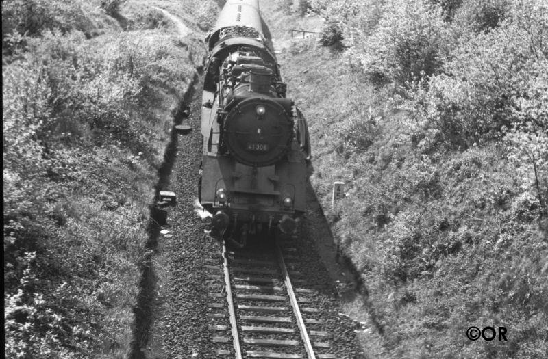 Baureihe 41 Strecke Brügge-Lüdenscheid
