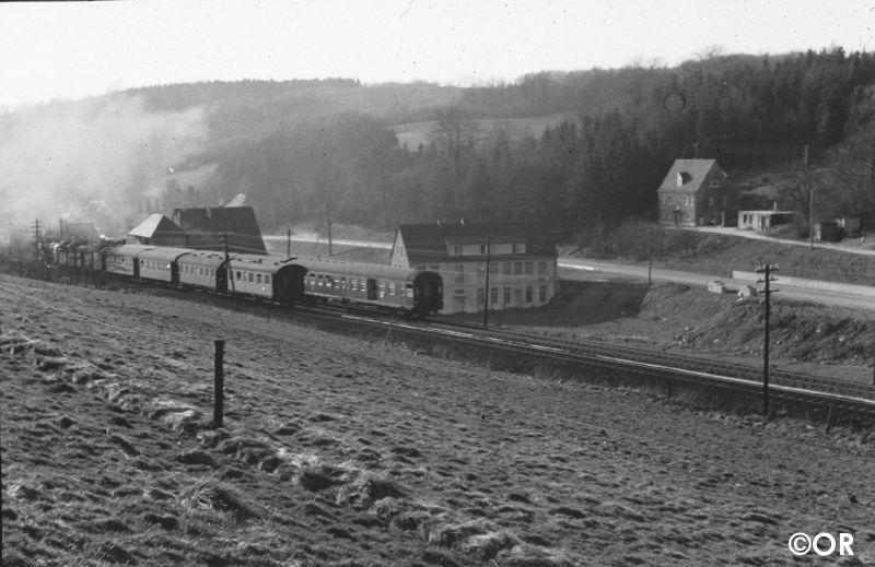 Wendezug Ausweiche Lösenbach