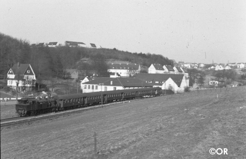 Baureihe 78 Ausweiche Lösenbach
