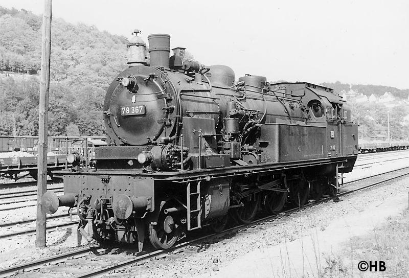 Baureihe 78 Bahnhof Brügge