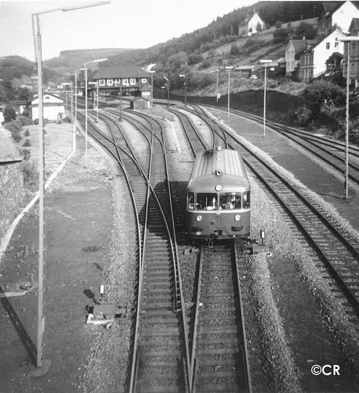 VT 95 Bahnhof Brügge
