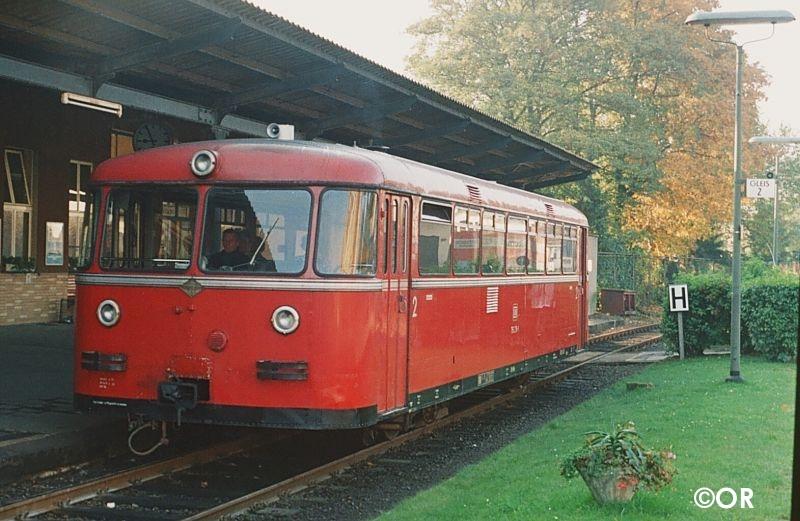 VT 95 Bahnhof Lüdenscheid