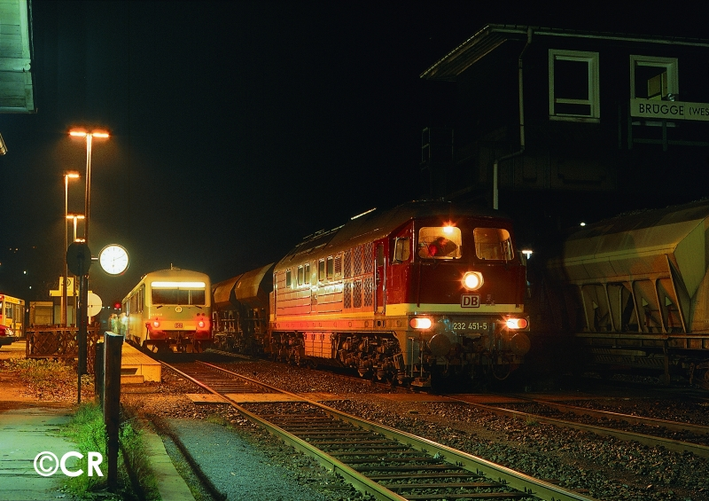 Baureihe 232 Ludmilla Volmetalbahn