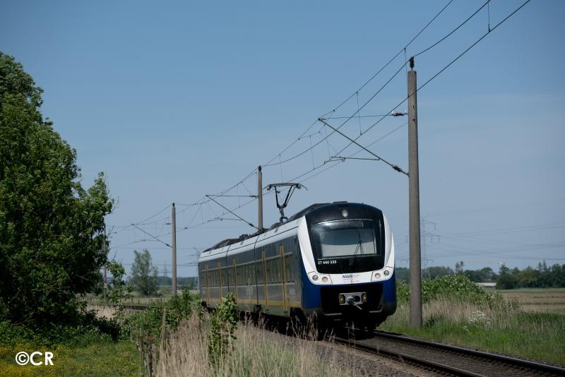 Strecke Nordenham-Hude