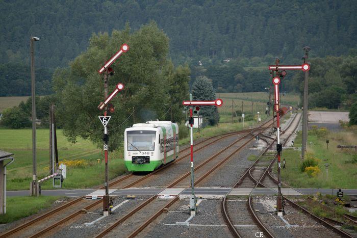 Bahnhof Themar  Baureihe 650 Regioshuttle